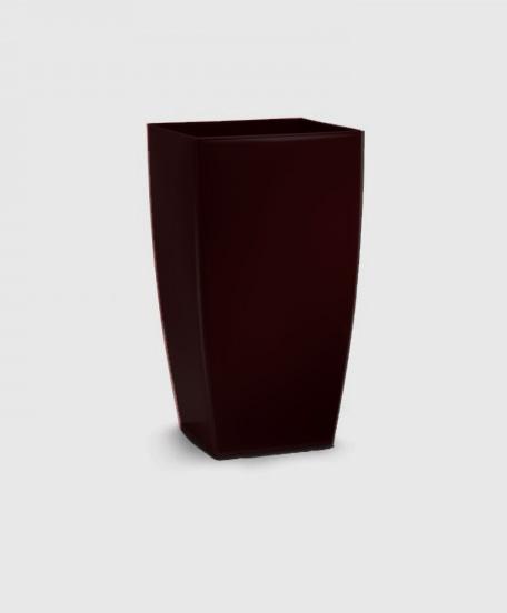 Γλάστρες | Κασπό Tetra Brillante Σκούρο Καφέ