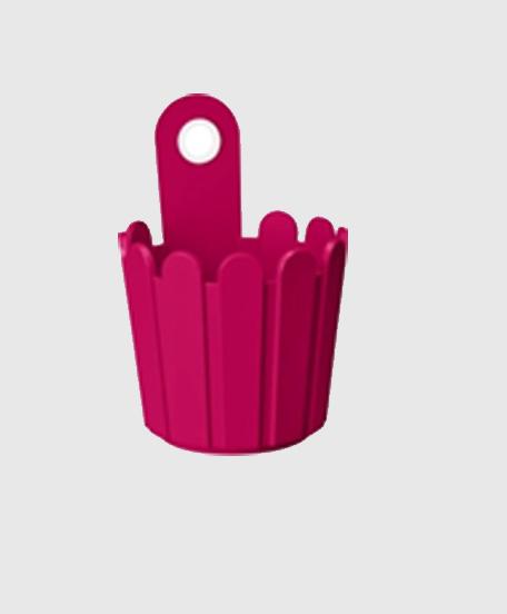 Landhaus Vase Fuxia Modagri Tech - Γλάστρες Emsa