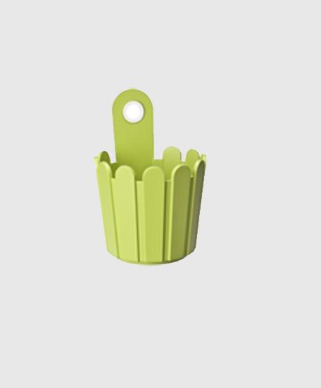 Landhaus Vase Green Modagri Tech - Γλάστρες Emsa