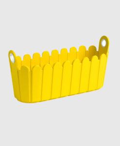 Landhaus jardiniere Yellow Modagri Tech - Γλάστρες Emsa